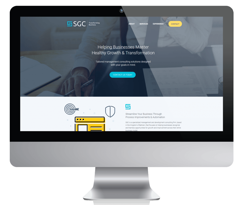 SGC Consulting Web Content Project Case Study