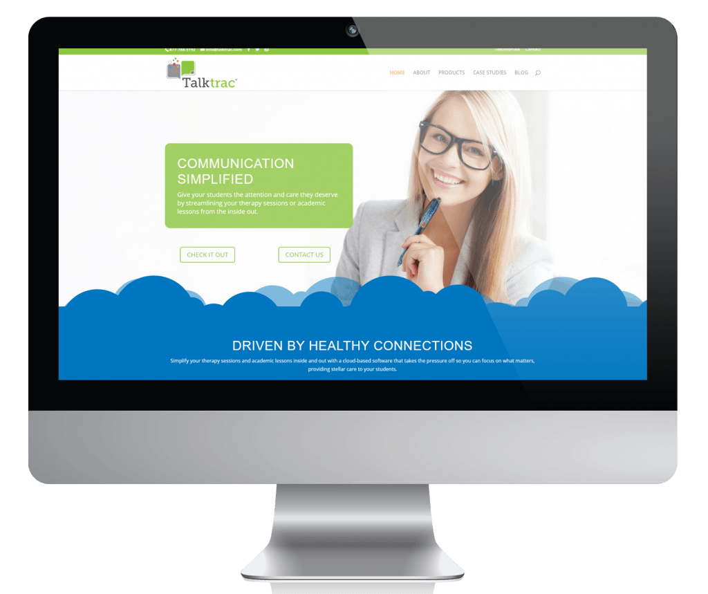 TalkTrac Software Web Content Case Study